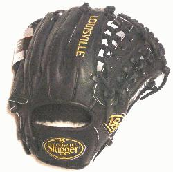 dified Trap Web and Open Back. Gold Stitching. Louisville Slugger Pro Flare Baseb
