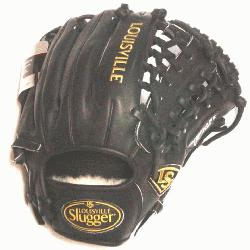 Trap Web and Open Back. Gold Stitching. Louisville Slugger Pro Flare Baseball Glove 11.7
