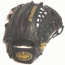 rap Web and Open Back. Gold Stitching. Louisville Slugger Pro Flare Baseball Glove 11.75 inches