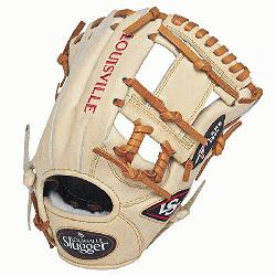 Slugger Pro Flare Cream 11.5 inch Baseball Glove (Right Handed Throw) : Designed with t