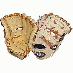 er Pro Flare Cream 11.75 2-piece Web Baseball Glove (Left Handed Throw) : Desi