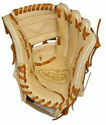 Pro Flare Cream 11.75 2-piece Web Baseball Glove (Left Handed Throw) : Designed with the spee
