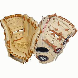 ger Pro Flare Cream 11.75 2-piece Web Baseball Glove (Right Handed Throw) : Designed with