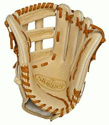 ugger Pro Flare Cream 12.75 inch Baseball Glove (Right Handed Throw) : Louisville Slugger Pro F