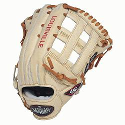 ville Slugger Pro Flare Cream 12.75 inch Baseball Glove (Right Handed Throw) : Lou
