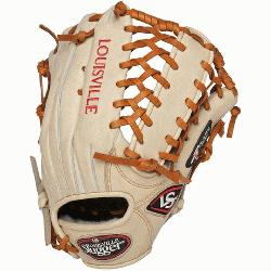 ouisville Slugger Pro Flare Cream 13 inch Outfield Baseball Glove (Left