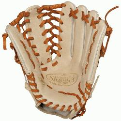 lle Slugger Pro Flare Cream 13 inch Outfield Baseball Glove (Left Handed Throw)