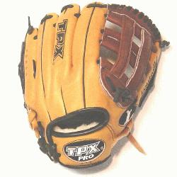 TPX Pro Series 11.75 Inch Baseball Glove. Maruhashi Japanese tanned Leather for