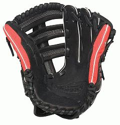Louisville Slugger Super Z Black 12.75 inch Slow Pitch Softball Glove (Right Handed Throw) : The