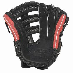 Slugger Super Z Black 12.75 inch Slow Pitch Softball Glove (Right Handed Throw) : The