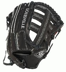 isville Slugger Super Z Black 12.75 inch Slow Pitch Softball Glove (Right Ha