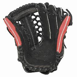 Super Z Black 13 inch Slow Pitch Softball Glove (Right Handed Throw) : The