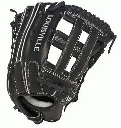 e Slugger Super Z Black 13.5 inch Slow Pitch Softball Glove (Right H