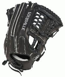 e Slugger Super Z Black 14 inch Slow Pitch Softball Glove (Right Handed Throw)
