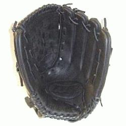 TPS Valkyrie V1200B 12 Inch Fastpitch Softball Glove : TPS Fastpitch Black Valk