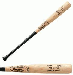 Ash Wood with a black handle and natural barrel. The handl