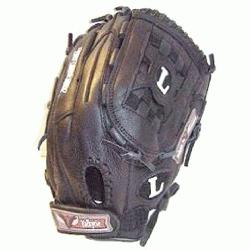 V1275B 12.75 Inch Valkyrie Elite Fast Pitch Softball Glove : TPS Fastpitch Black Valkyri