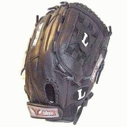 lle Slugger Valkyrie V1250B 12 12 Inch Fastpitch Softball Glove : TPS Fast pitch Black