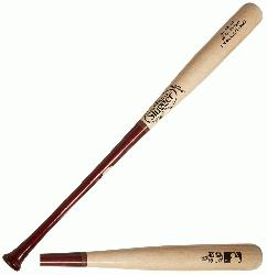 e Slugger wood baseball bat MLB prime maple i13 turning model natural barrel