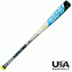 (-11) 2 5/8 inch USA Baseball bat is designed for players looking to match the high heat with a l