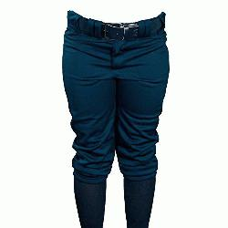 ville Slugger Womens Fast Pitch OKC Low Rise Softball Pants Navy : Wom