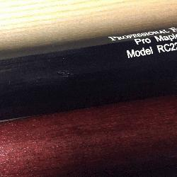 Maple with small scratch. MLB Select P72. S318 Pro Stock and Mizu