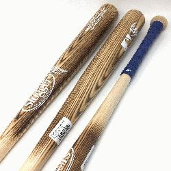 all bats by Louisville Slugger. MLB Authentic