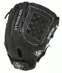 Xeno Fastpitch Softball Glove 12 inch FGXN14-BK120 (Right Handed Throw) : The Louisville Slugger