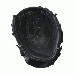 line leather meets a soft lining a game-ready glove