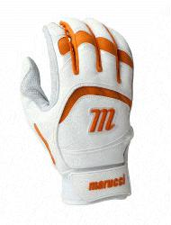 014 Adult Batting Gloves (White, XXL) : Based in Baton Rouge, L
