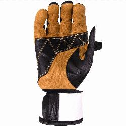 y durable training glove, inspired by heavy work gloves, built to endure hours in the ca