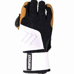 emely durable training glove, inspired by heavy work gloves, built to endure hours in the cage