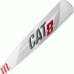 SSA certified, one-piece alloy bat built with AZ105 super strength aluminum alloy mea
