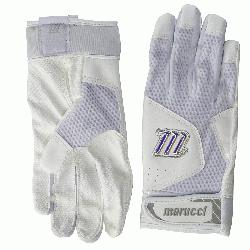 rucci's earlier batting glove line, this year's Quest features an innovative dimple