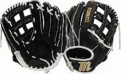 5 Inch Softball Glove Cushioned Leather Finger Lining For Maximum Comfort Si