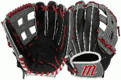 de leather shell and padded leather palm lining Reinforced finger tops protect against fielding a