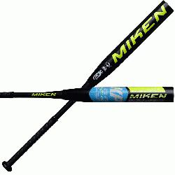 DESIGNED FOR ADULTS PLAYING RECREATIONAL AND COMPETITIVE SLOWPITCH SOFTBALL, this Miken Freak