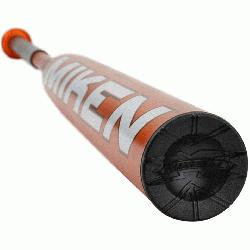 rs signature one-piece bat with a balanced weighting for faster swing speed and