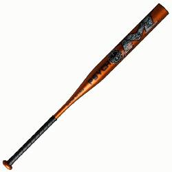 Isenhower s signature one-piece bat with a balanced weighting for faster