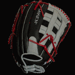 s line of gloves from Miken feature professionally inspired slowpitch specific patterns with enl
