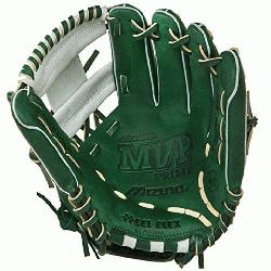 o 11.5 inch MVP Prime SE3 Baseball Glove GMVP1154PSE3 (Forest-Silver, Right Hand Throw) :