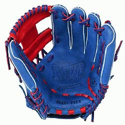 11.5 inch MVP Prime SE3 Baseball Glove GMVP1154PSE3 (Royal-Red, Right Hand Throw) : Patent pending