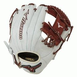 inch MVP Prime SE3 Baseball Glove GMVP1154PSE3 (Silver-Brown, Right Hand Throw) :