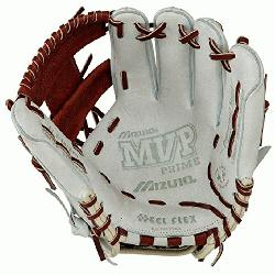 o 11.5 inch MVP Prime SE3 Baseball Glove GMVP1154PSE3 (Silver-Brown, Right Hand Throw)
