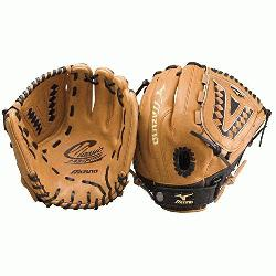 zuno Classic GCF1175 Fastpitch Softball Glove (Left Hand Throw) : Pattern designed speci
