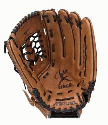 oiled Durasoft leather for game ready playability. Finch Franchise Series fastpitch Soft
