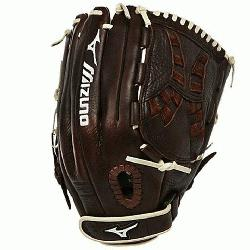 izuno Franchise Fastpitch series has pre-oiled java leather which is game ready and long
