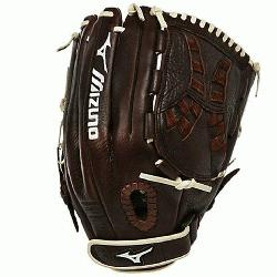 o Franchise Fastpitch series has pre-oiled java leather which is game ready and long lasting. P