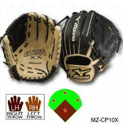 GCP series is Mizunos most popular Pro Level glove, utilizing patented 3D Techno