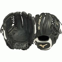 he Mizuno GGE50FP is a 12.00 utility glove made from SteerSoft E-Lite leather, creating